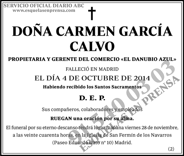 Carmen García Calvo